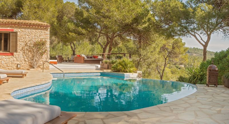 Authentic Ibicenco Finca completely renovated