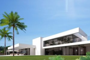 Modern luxury villa for sale in Santa Eulalia