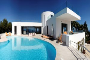 Exclusive luxury villa with amazing views