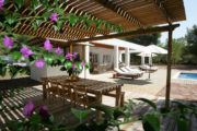 Nice villa in Cala Jondal near to the beach (1)