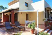 Villa with sea views Cala Tarida (1)