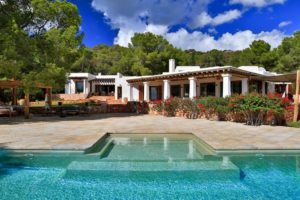 Luxury villa in Es Cubells with exceptional beautiful views