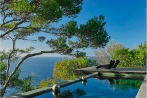 Moderne Villa with sea views and sunset in Cala Moli