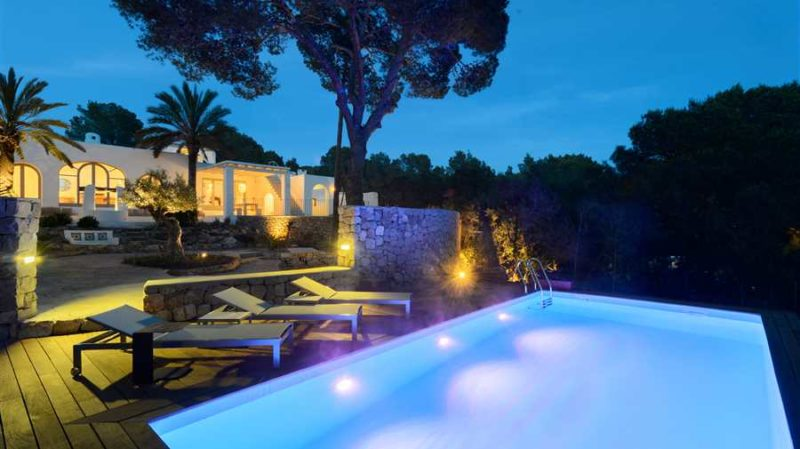 Very nicely renovated villa with sea view in Ibiza Cala Conta