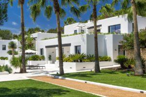 Luxury Blakstad Ibiza Villa with sea view in Cap Martinet