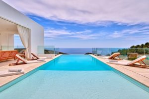 New Luxury Villa on Top of Cala Olivera on Ibiza