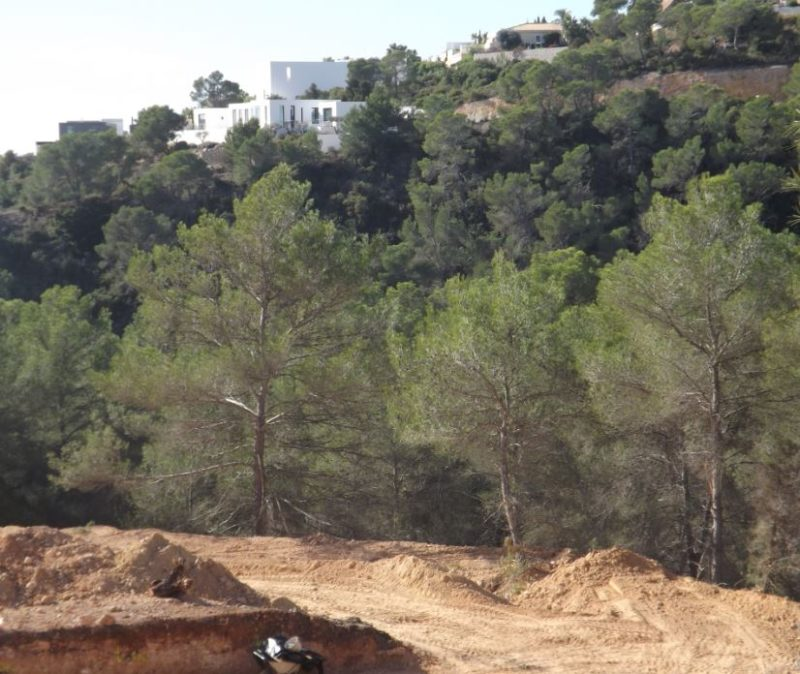 Plot from 40000m2 with licence in Porroig for a villa with 500m2 living area