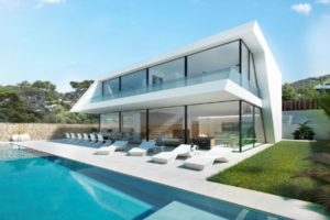 Newly built house of 320 square meters with swimming pool in Jesus