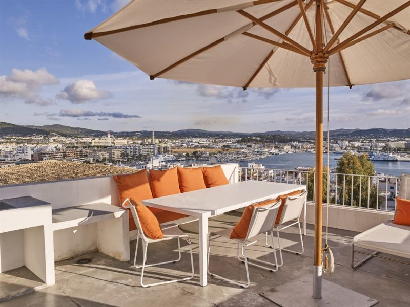 Townhouse located at Pere Tur in the old town of Ibiza